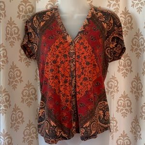 Lucky Brand button front top S